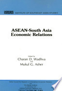 Asean South Asia Economic Relations Book PDF