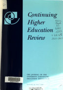 Continuing Higher Education Review