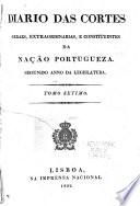 Diario das cartes geraes e extraordinarias da nacão portugueza: August 1, 1822-September 30, 1822