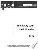 Interlibrary Loan In Arl Libraries