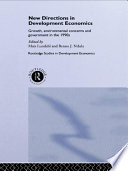 New Directions In Development Economics Book PDF