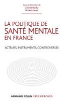 Pdf La politique de santé mentale en France Telecharger