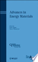 Advances In Energy Materials Book PDF