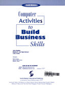 Computer Activities to Build Business Skills