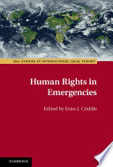 Human Rights in Emergencies