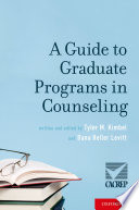 A Guide to Graduate Programs in Counseling