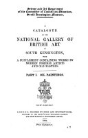 A catalogue of the National gallery of British art, with a suppl. containing works by modern foreign artists and old masters