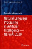 Natural Language Processing in Artificial Intelligence—NLPinAI 2020