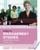 English for Management Studies in Higher Education Studies
