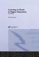 Learning to Teach in Higher Education [Pdf/ePub] eBook