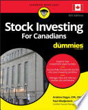 Stock Investing For Canadians For Dummies Book