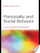 Personality and Social Behavior Book