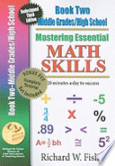 Mastering Essential Math Skills Book 2 Middle & High School With Companion Dvd  : New Redesigned Library Version