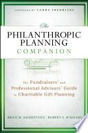 The Philanthropic Planning Companion Book