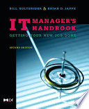 IT Manager s Handbook Book