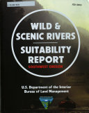 Wild & Scenic Rivers Suitability Report, Southwest Oregon