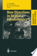 New Directions in Spatial Econometrics Book