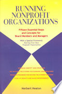 Running Nonprofit Organizations Book PDF