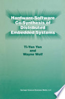 Hardware Software Co Synthesis of Distributed Embedded Systems