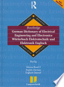 Langenscheidt Routledge German Dictionary of Electrical Engineering and Electronics