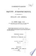 Commentaries on Equity Jurisprudence Book PDF