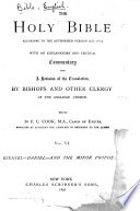 The Holy Bible According to the Authorized Version  a D  1611   Ezekiel to the Minor Prophets  1892 Book