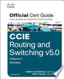 CCIE Routing and Switching v5 0 Official Cert Guide  Volume 2 Book
