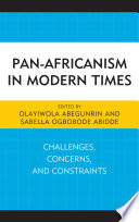 Pan Africanism in Modern Times
