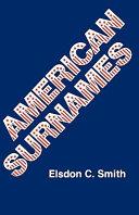 American Surnames ebook