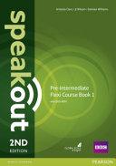 Speakout Pre-Intermediate Flexi Coursebook 1 Pack