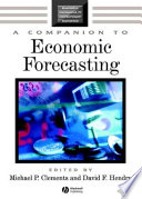 A Companion To Economic Forecasting Book PDF