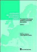 Governance dell'economia e integrazione europea