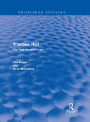 Toynbee Hall  Routledge Revivals