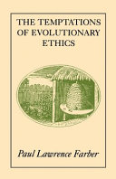 The Temptations of Evolutionary Ethics Pdf/ePub eBook