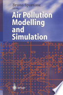 Air Pollution Modelling and Simulation Book