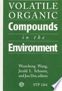 Volatile Organic Compounds In The Environment Book PDF