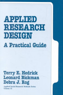 Applied Research Design