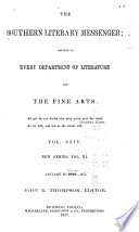 Southern Literary Messenger Book