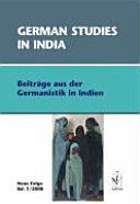 German studies in India