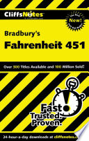 CliffsNotes on Bradbury s Fahrenheit 451