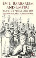 Evil, Barbarism and Empire Pdf/ePub eBook