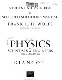 Physics for Scientists & Engineers With Modern Physics - Band 1