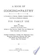 A Book of Cooking and Pastry