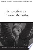 Perspectives on Cormac McCarthy Book