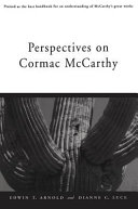 Pdf Perspectives on Cormac McCarthy