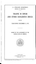 Traffic in opium and other dangerous drugs  1936