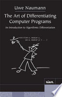 The Art of Differentiating Computer Programs Book