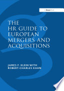 The HR Guide to European Mergers and Acquisitions Book