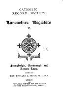 Publications of the Catholic Record Society