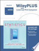 Statistics + Wileyplus